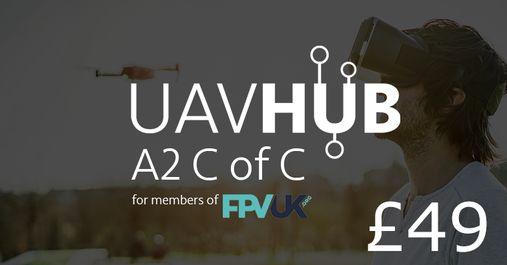 UAVHUB A2 CofC Discount